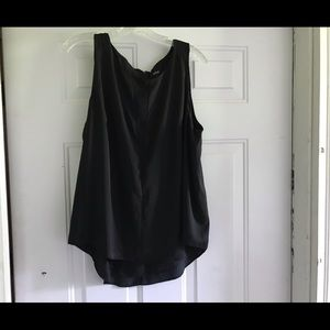 Silky black sleeveless blouse from Apt 9. Size XL